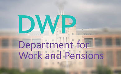 DWP Building and logo