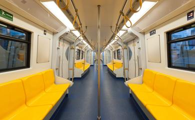 Yellow Train seating