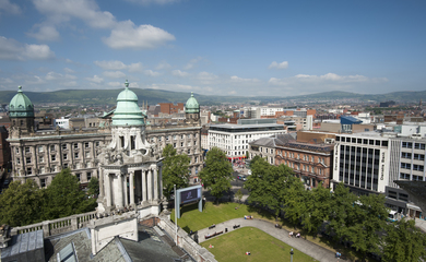 Birdseye view of Belfast