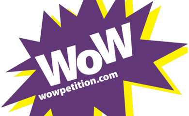 WOW petition logo