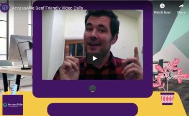 Screenshot of video clip - Ed Rex talking