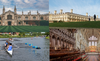 Collage of Cambridge