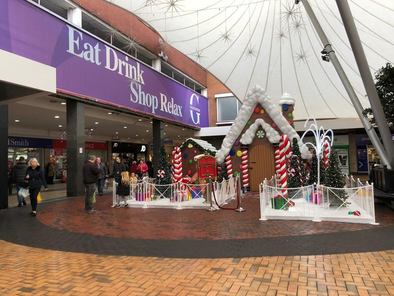 Christmas Grotto at shopping centre