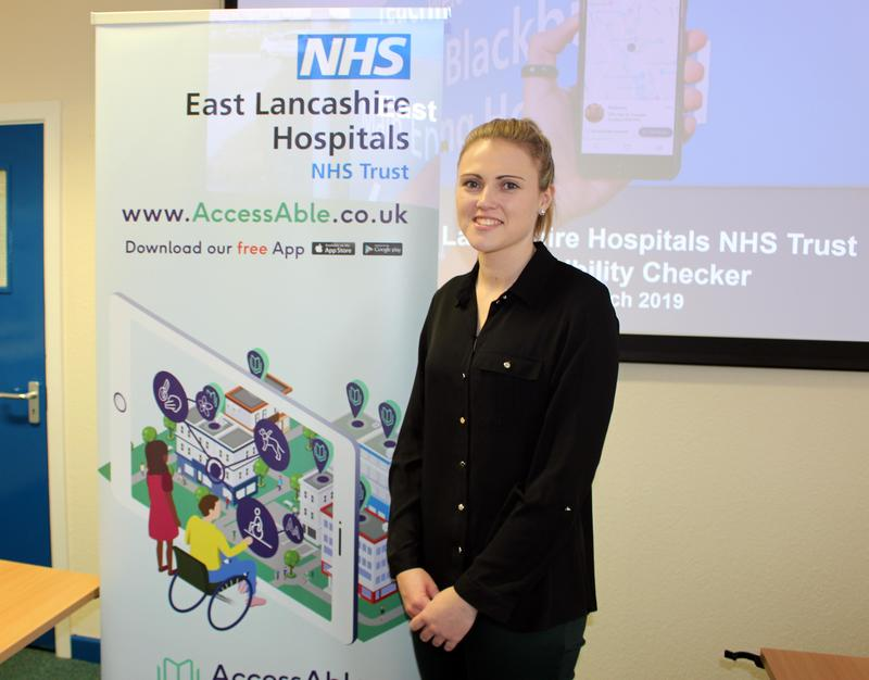 AccessAble's Head of Partnerships Rachel Carter at the launch of the AccessAble Detailed Access Guide