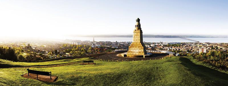 Overlooking Dundee