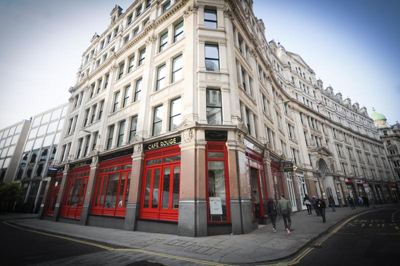 Cafe Rouge building