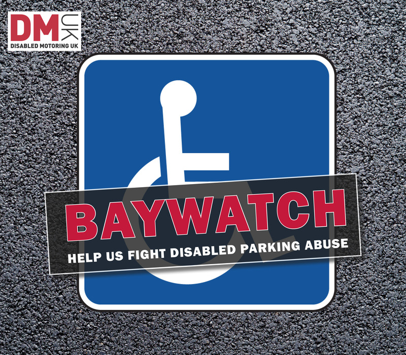 Help us fight disabled parking abuse