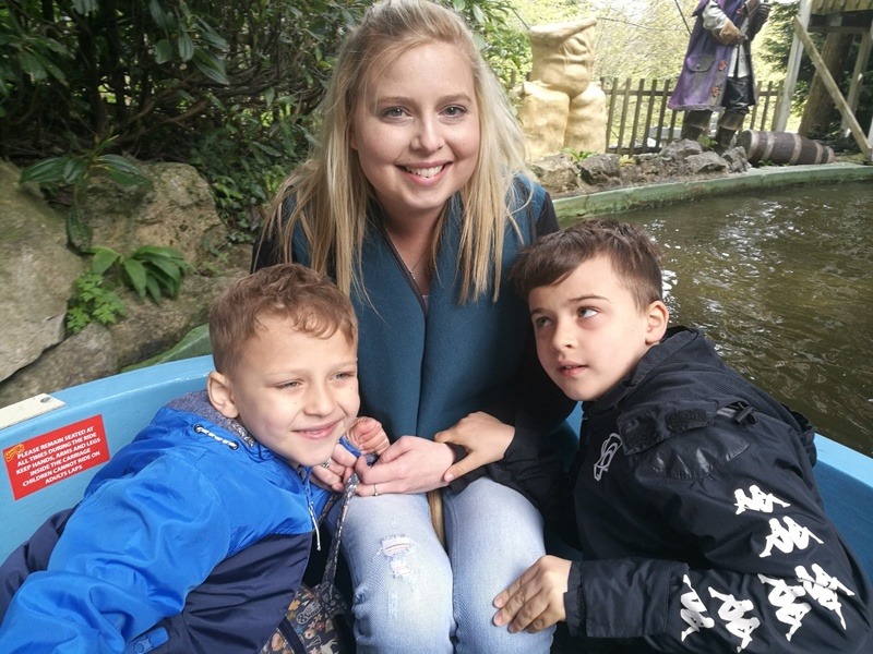 Natalie with her two boys