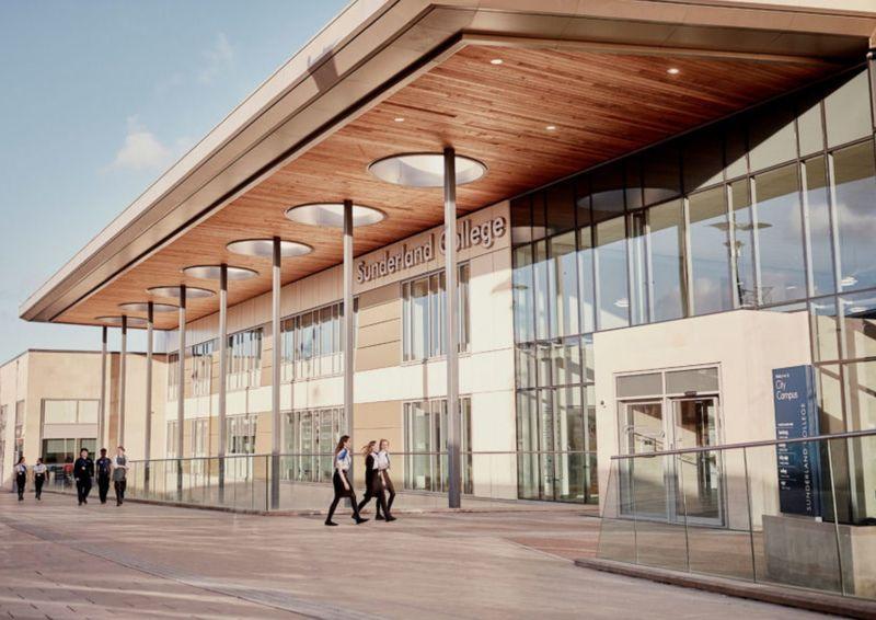 Sunderland college buildinng