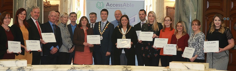 Attendees at the AccessAble Northern Ireland launch event