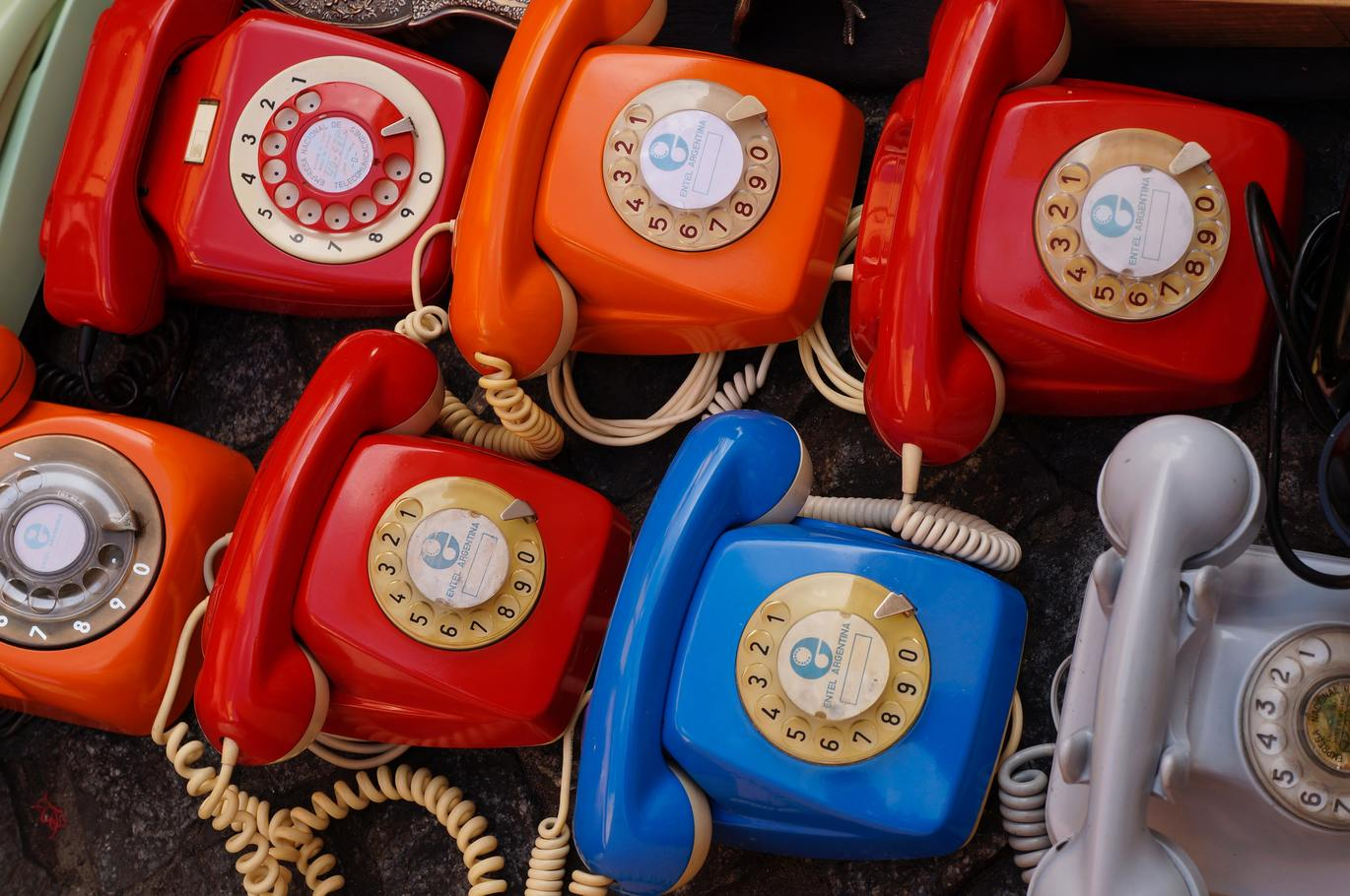 """image of telephones """